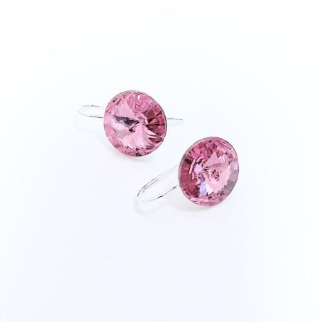 Örhängen med Swarowski® kristaller Bella Rose