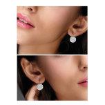 Örhängen med Swarowski® kristaller Grace Crystal Heliotrope