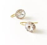 Örhängen med Swarowski® kristaller Abigail Crystal Clear