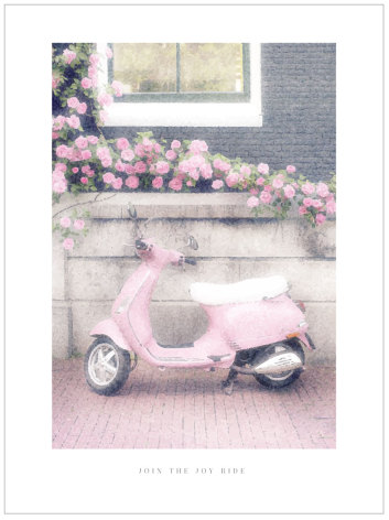 ARTPRINT ROSA SCOOTER