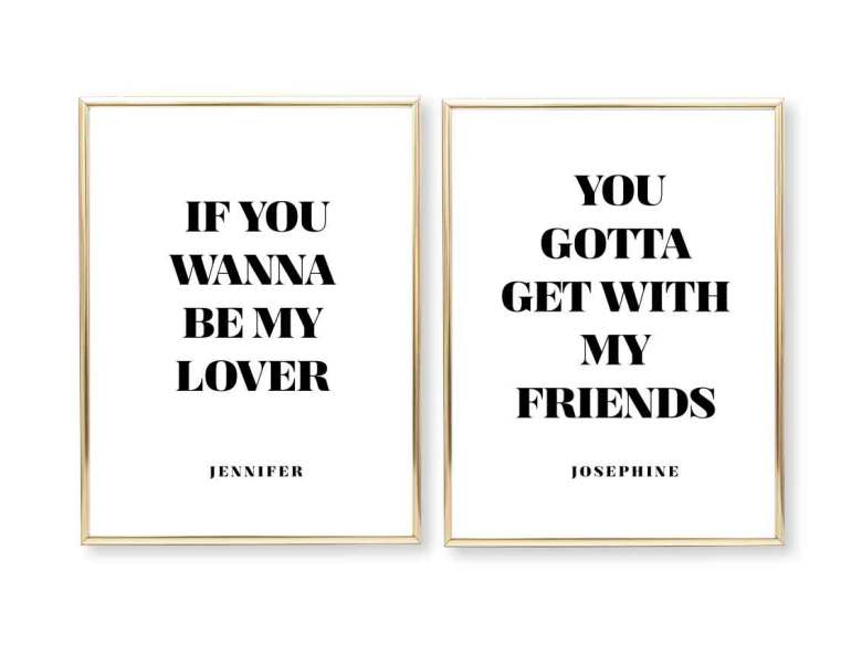PARPOSTERS - SPICE GIRLS IF YOU WANNA 2 st posters