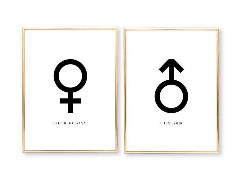 symbol för kvinna
