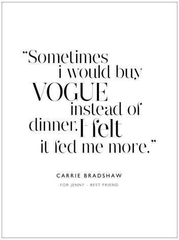 I WOULD BUY VOGUE