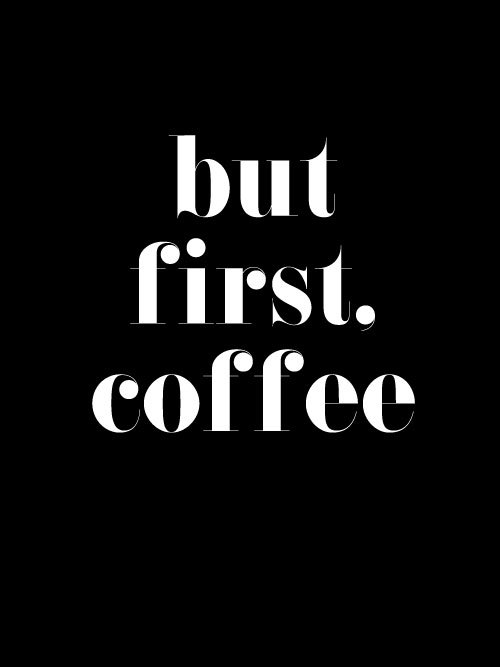 BLACK BUT FIRST COFFEE