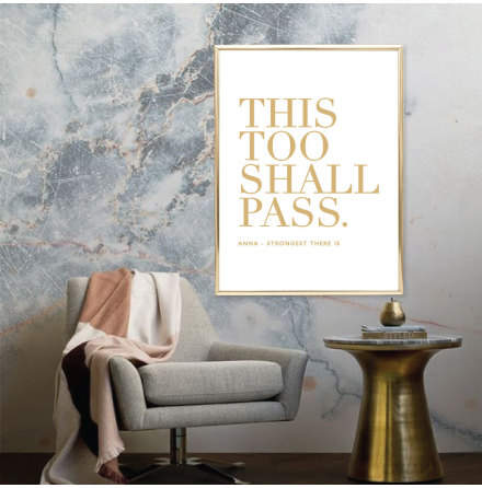 THIS TOO SHALL PASS CITATPOSTER