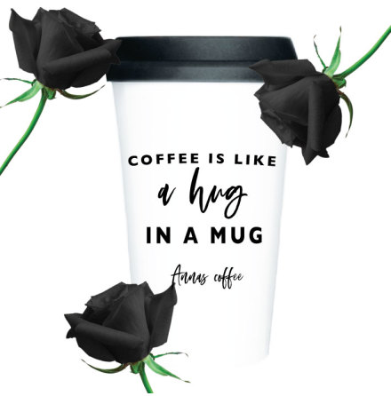 TAKE AWAY CUP - A HUG IN A MUG