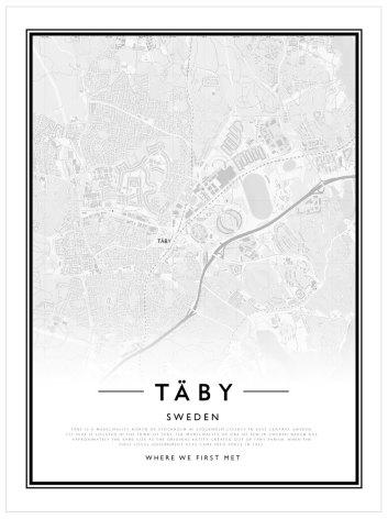 CITYMAP - TÄBY
