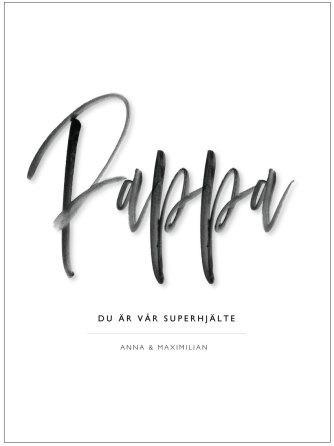 HÄRLIGA PAPPA/MAMMA