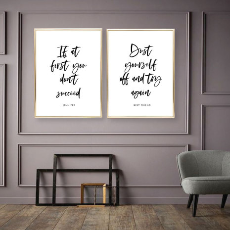 PARPOSTERS - IF AT FIRST YOU DON'T SUCCEED 2 st posters