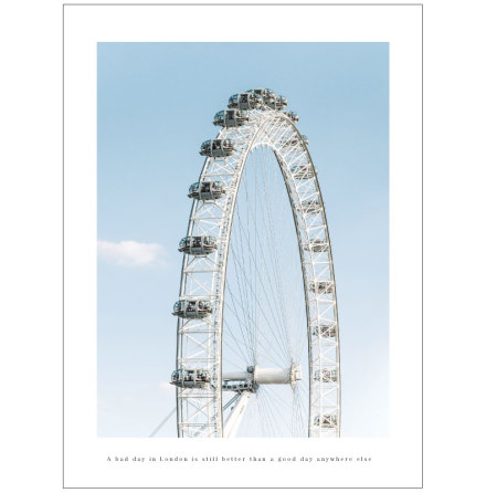 FOTOKONST - LONDON EYE