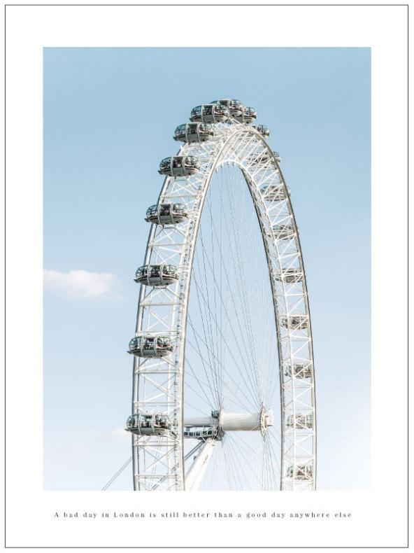 FOTOKONST - LONDON EYE