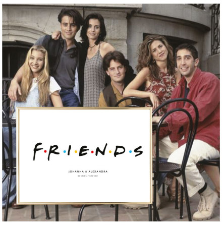 FRIENDS - KOMPISPOSTER