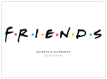 FRIENDS - KOMPISPOSTER
