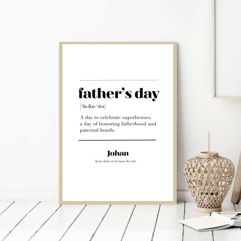 FATHER'S DAY POSTER