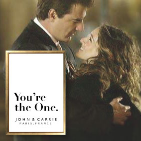 you´re the one carrie and mr big