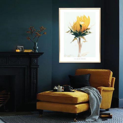 premium selection 24f5c e97e2 fotokonst artprints kartor solrostavla, solrosposter, solrosaffisch,  citatposter citattavla snygga posters personlig poster tavla